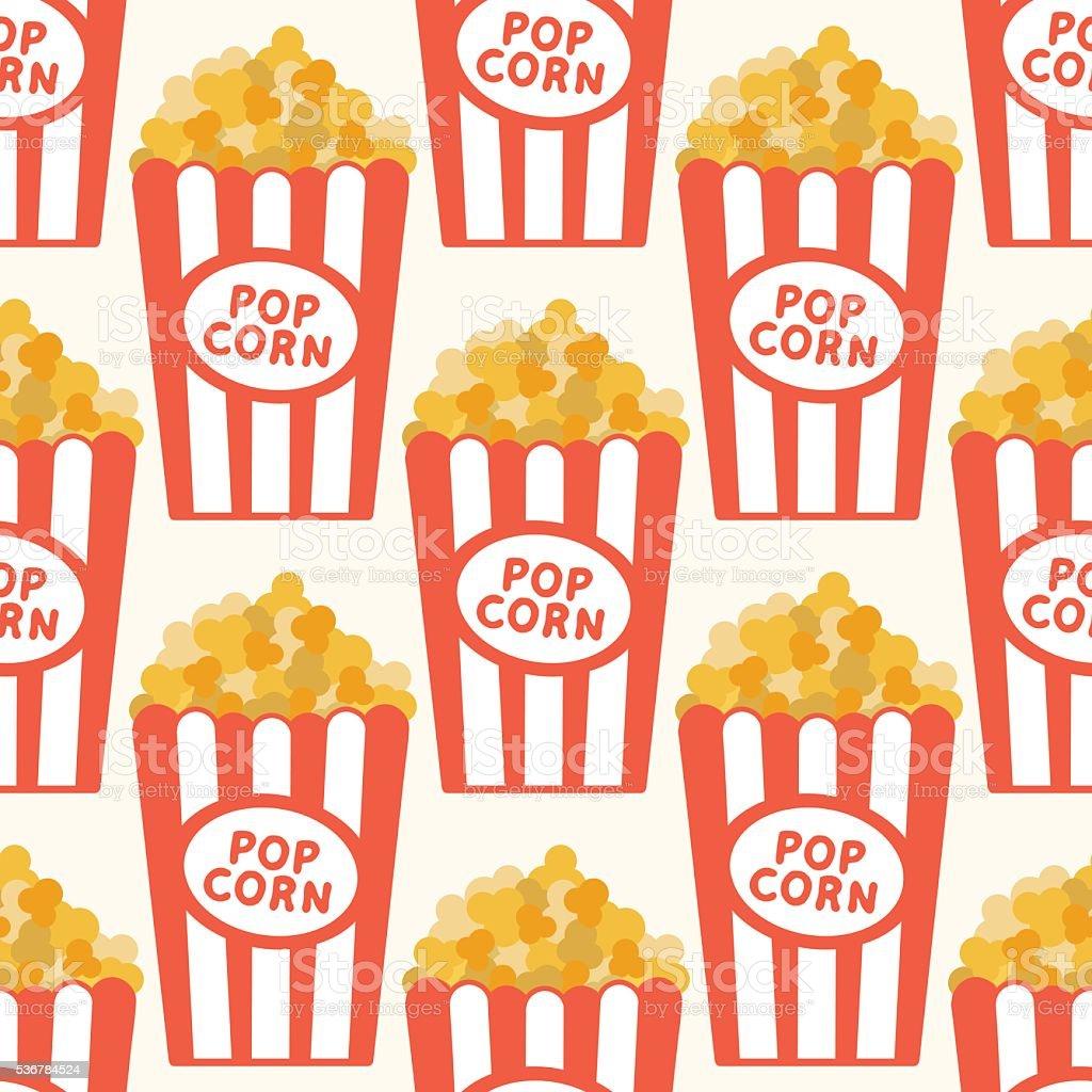 Popcorn Wallpaper Stock Illustration Download Image Now