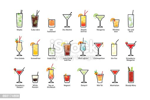 316 Manhattan Cocktail Illustrations Clip Art Istock