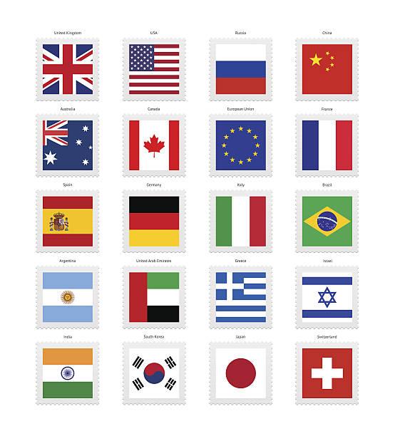 ilustraciones, imágenes clip art, dibujos animados e iconos de stock de popular banderas colección - bandera rusa