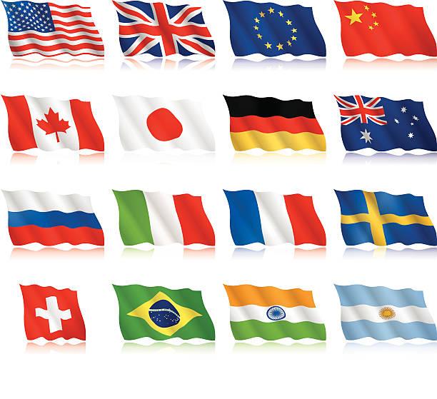 beliebte flags-winkt formular - flagge kanada stock-grafiken, -clipart, -cartoons und -symbole