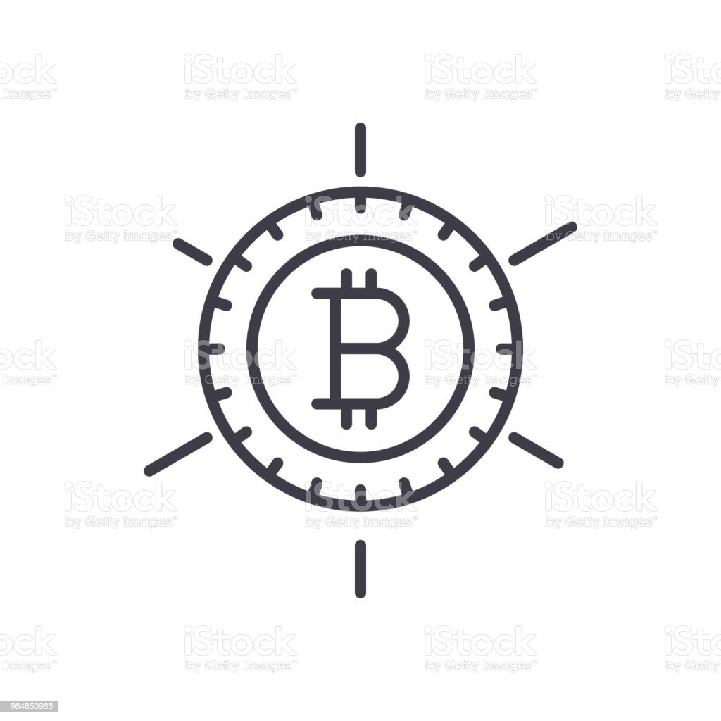 Popularity of bitcoin black icon concept. Popularity of bitcoin flat  vector symbol, sign, illustration. royalty-free popularity of bitcoin black icon concept popularity of bitcoin flat vector symbol sign illustration stock vector art & more images of adulation