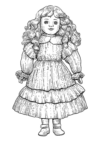 Illustration, what made by ink and pencil on paper, then it was digitalized.