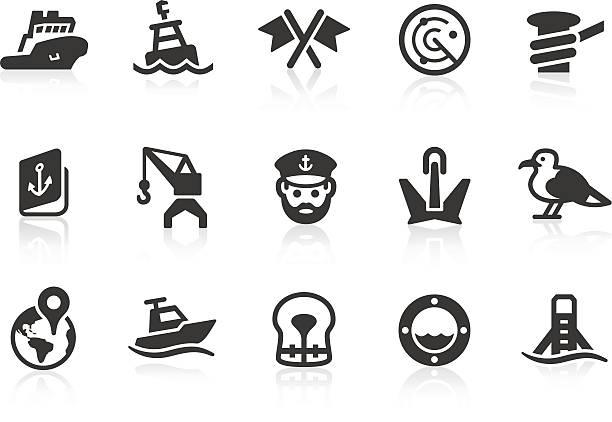 ilustrações de stock, clip art, desenhos animados e ícones de porto de ícones - porto