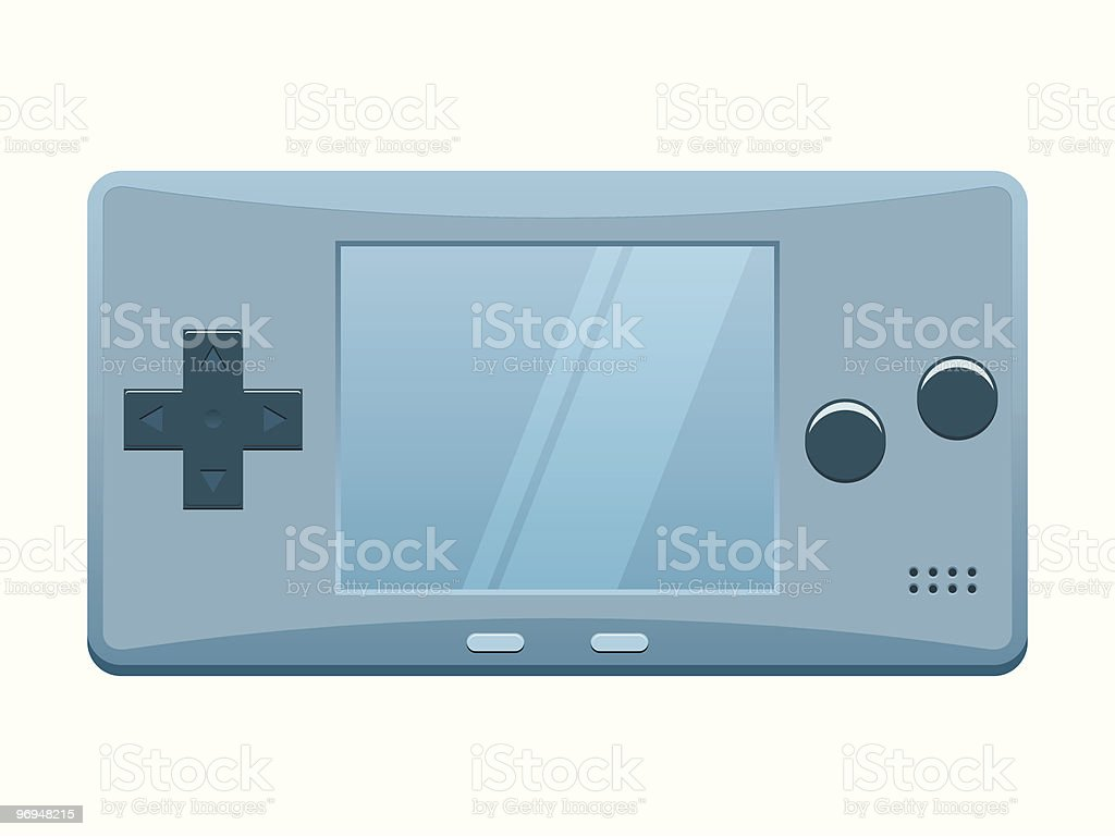 Portable games console royalty-free portable games console stock vector art & more images of art and craft
