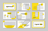 Plan - Document, Brochure, Design, Corporate Business, Identity, yellow color