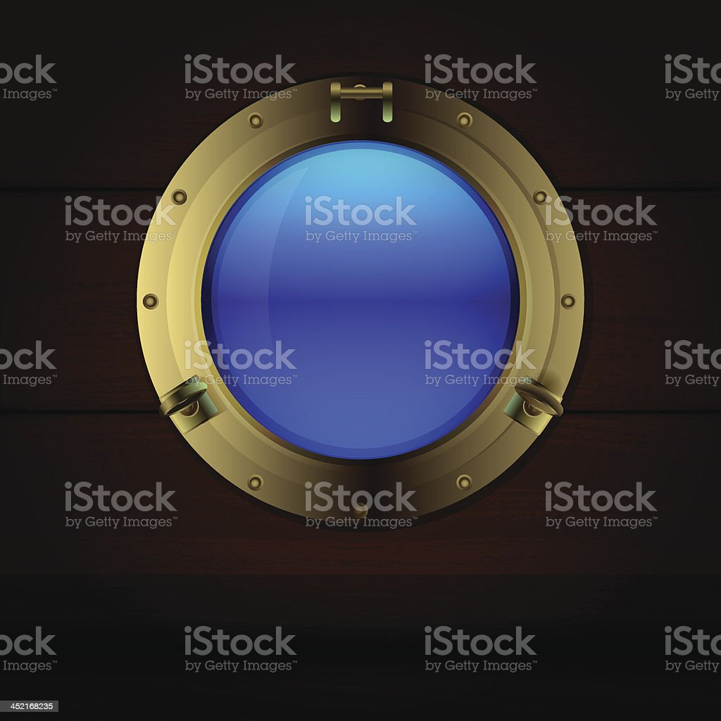 porthole and wood royalty-free porthole and wood stock vector art & more images of art