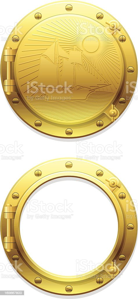 porthole royalty-free porthole stock vector art & more images of copy space