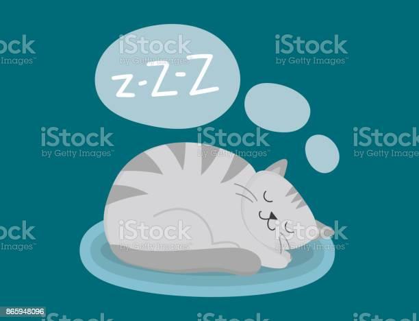 Portrait cat animal sleep pet cute kitten purebred feline kitty fur vector id865948096?b=1&k=6&m=865948096&s=612x612&h=q5hyuidk9umij2glqlhyojvesj 3cje17lsj 0b8zfq=