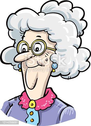 istock Portrait of a grandmother 1214255031