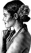 Portrait of a Latin American Woman