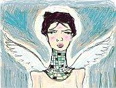 istock Portrait of an Angel 96419846