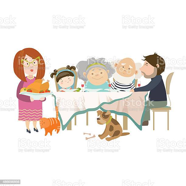 Portrait of big family sitting at the table vector id486696856?b=1&k=6&m=486696856&s=612x612&h=4g6s7xa5cs o4wrlzophqa zwk4gx6meqlkfq xesyc=