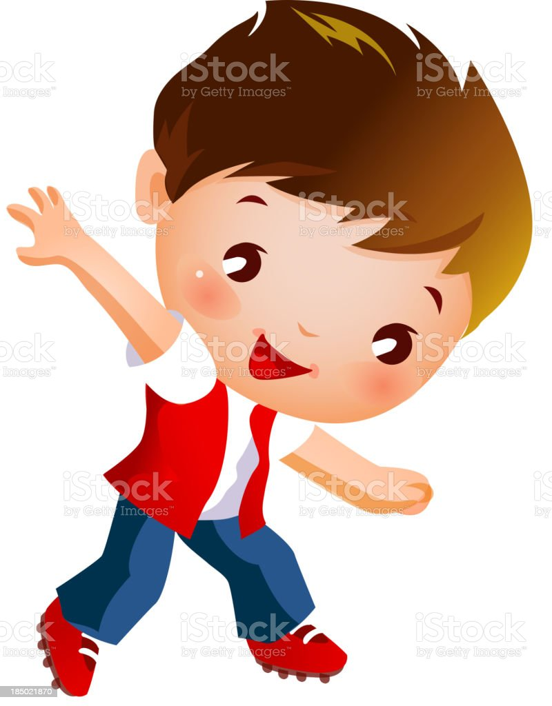 Portrait of boy royalty-free portrait of boy stock vector art & more images of barefoot