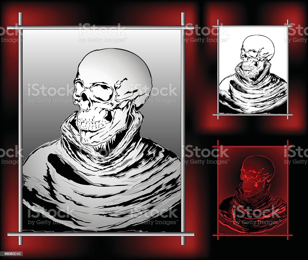 Portrait of death royalty-free portrait of death stock vector art & more images of art
