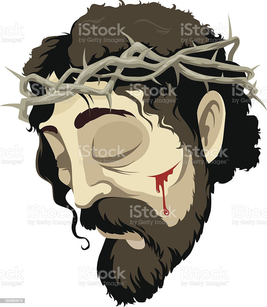 Portrait Of Jesus royalty-free portrait of jesus stock vector art & more images of arts culture and entertainment