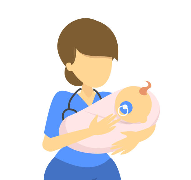 816 Midwife Illustrations, Royalty-Free Vector Graphics & Clip Art - iStock