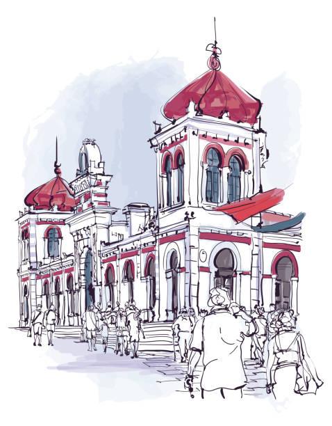 ilustrações de stock, clip art, desenhos animados e ícones de portugal, algarve town of loule, the market - algarve