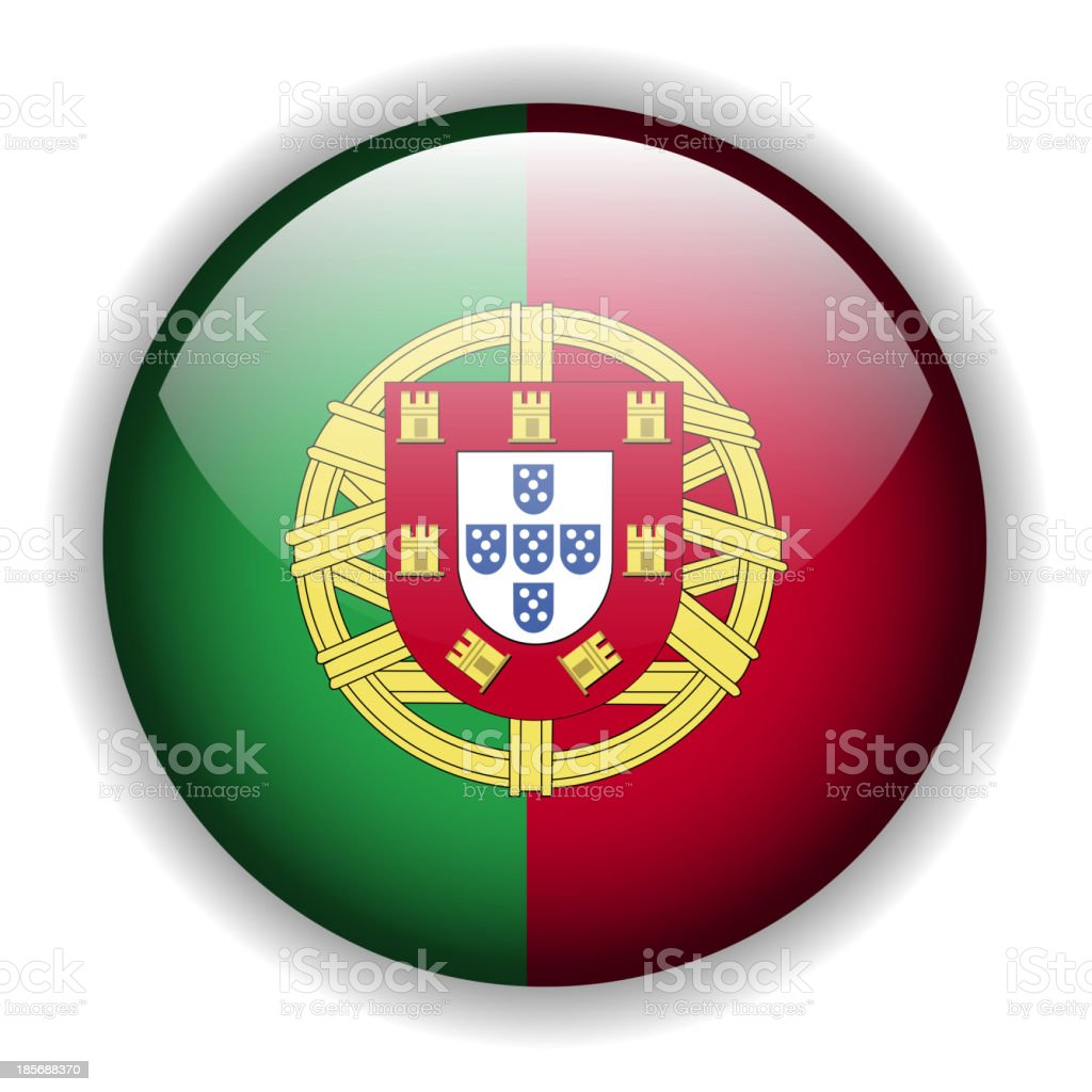 Portugal flag button, vector royalty-free portugal flag button vector stock vector art & more images of authority
