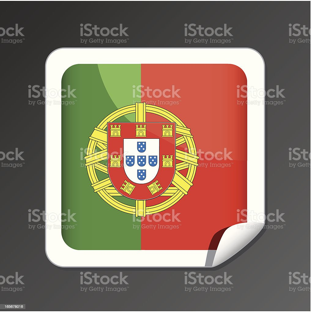 Portugal flag icon royalty-free portugal flag icon stock vector art & more images of concepts