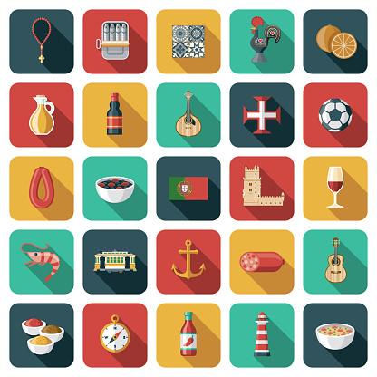 Portugal Icon Set