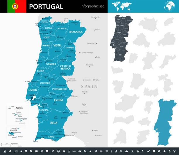 ilustrações de stock, clip art, desenhos animados e ícones de 09 - portugal - murena infographic short 10 - aveiro