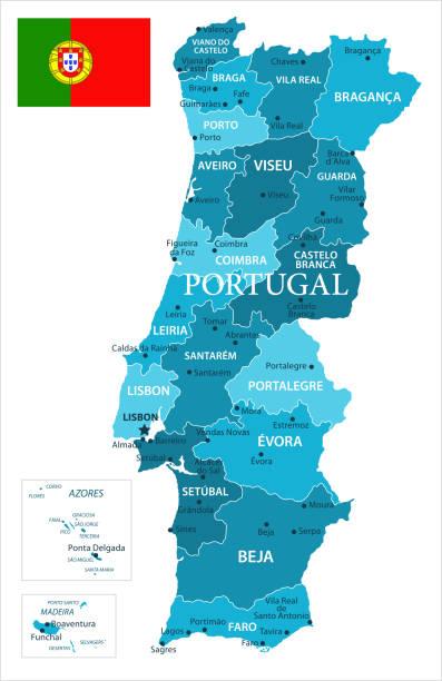 ilustrações de stock, clip art, desenhos animados e ícones de 31 - portugal - murena spot isolated 10 - funchal madeira