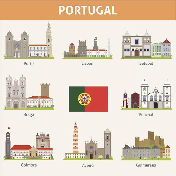 ilustrações de stock, clip art, desenhos animados e ícones de portugal.  símbolos de cidades - funchal madeira
