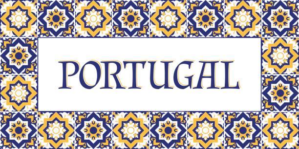 portugalia wektor banerów podróży - kultura portugalska stock illustrations