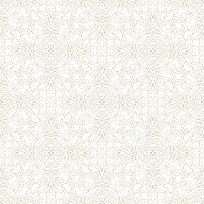 Portuguese azulejo ceramic tile seamless pattern.