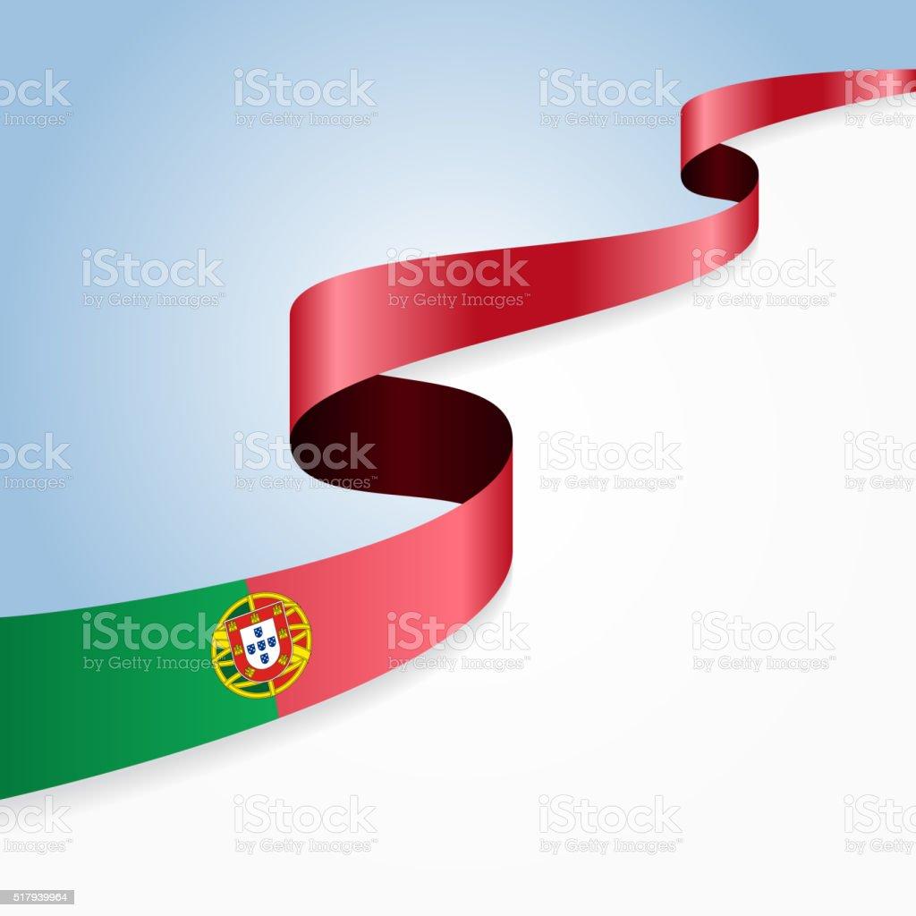 Fundo de Bandeira de Portugal. Ilustração vetorial - ilustração de arte vetorial