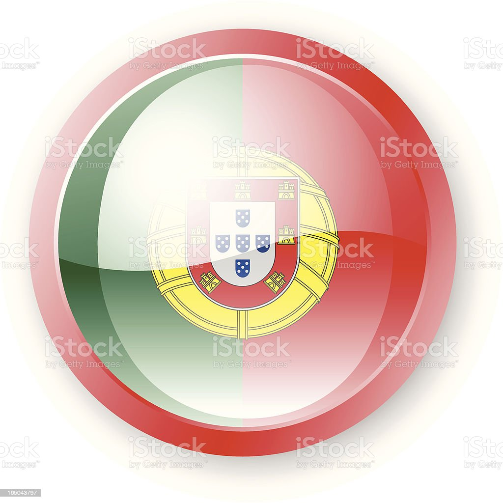 Portuguese Flag Icon royalty-free portuguese flag icon stock vector art & more images of circle