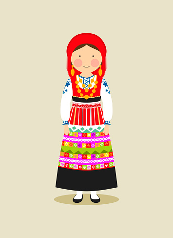 Portuguese traditional clothing for women