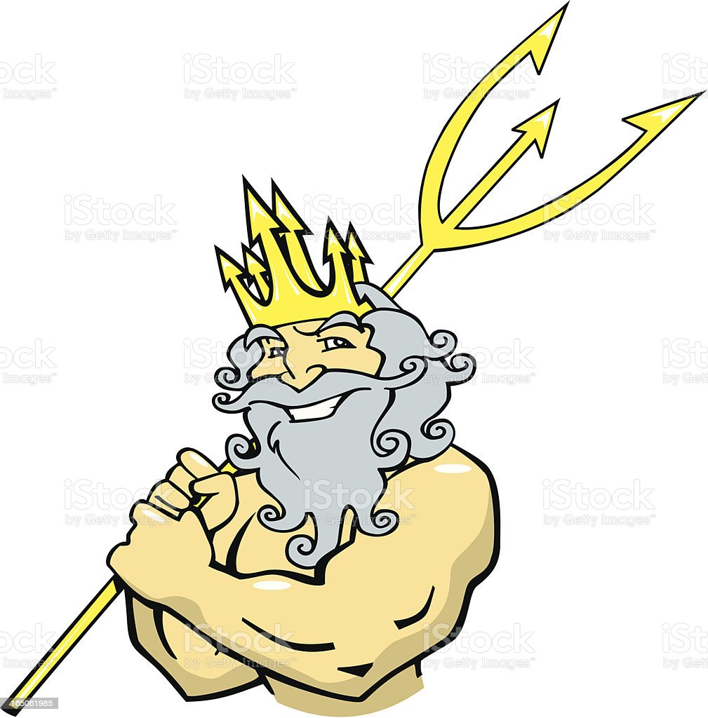Poseidon with Trident royalty-free poseidon with trident stock vector art & more images of adult
