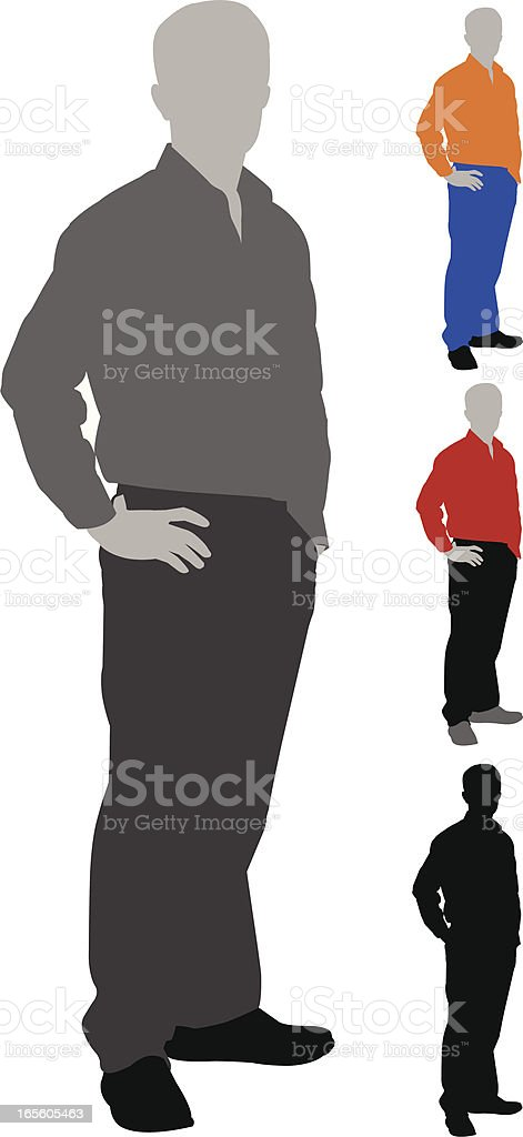 Posing royalty-free posing stock vector art & more images of adult