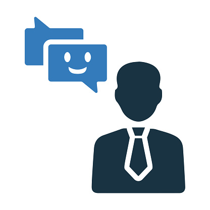 Positive Customer Review Icon Design