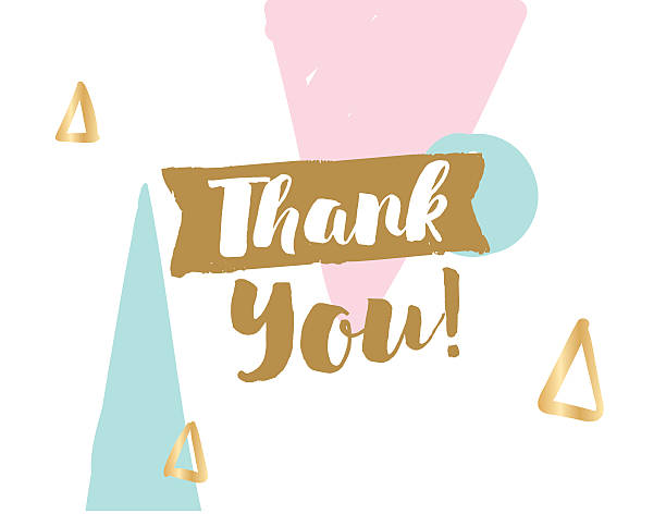 Thank You Banner Clip Art, Vector Images & Illustrations ...