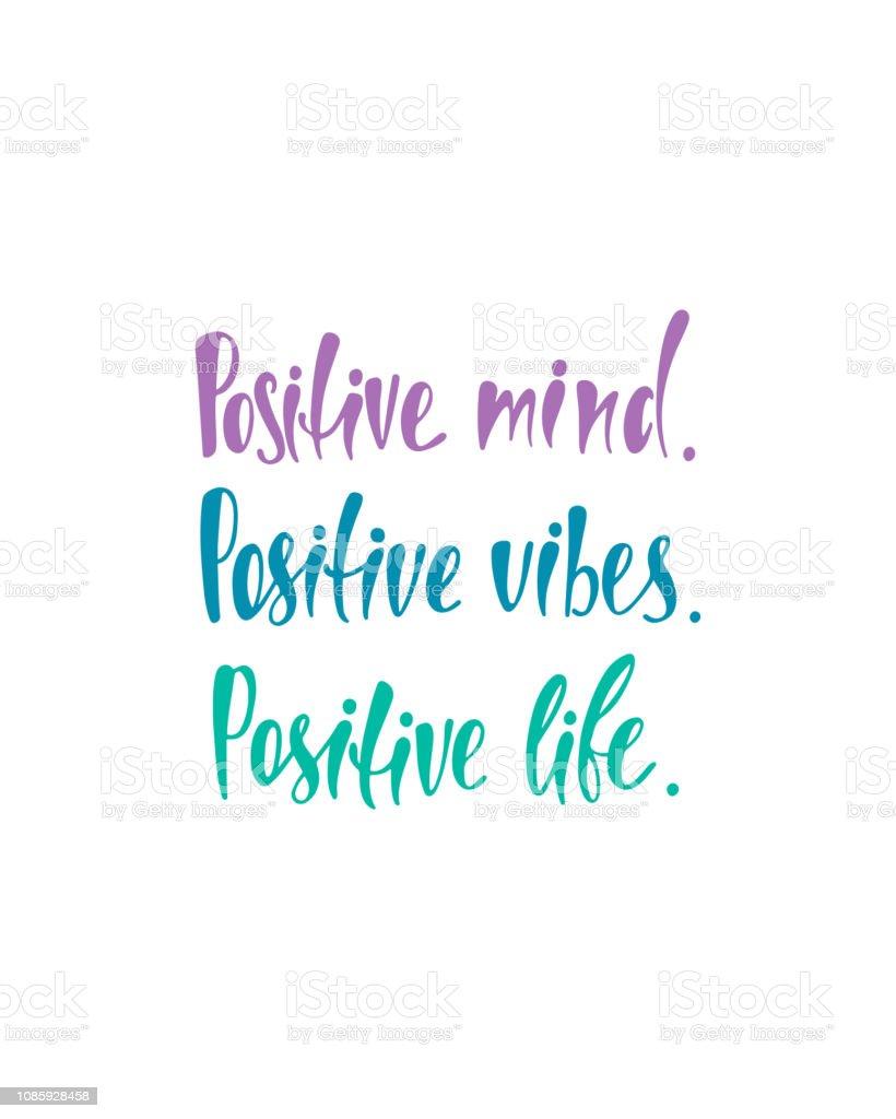 Esprit Positif Vibraphone Vie Inspirational Citation Sur Le