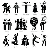 Free Flexible People Silhouettes Clipart and Vector