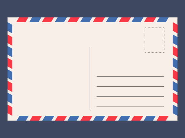 post card template - postcard stock illustrations