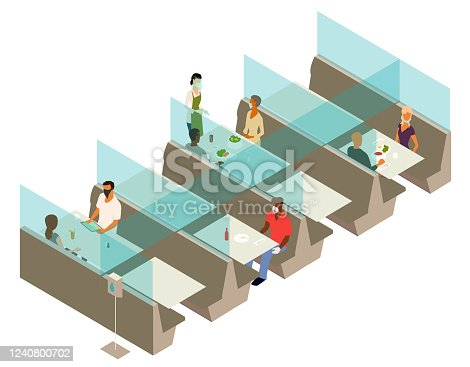 istock Post cover restaurant illustration 1240800702