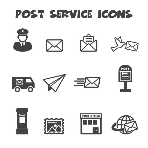 Best Post Office Illustrations, Royalty-Free Vector