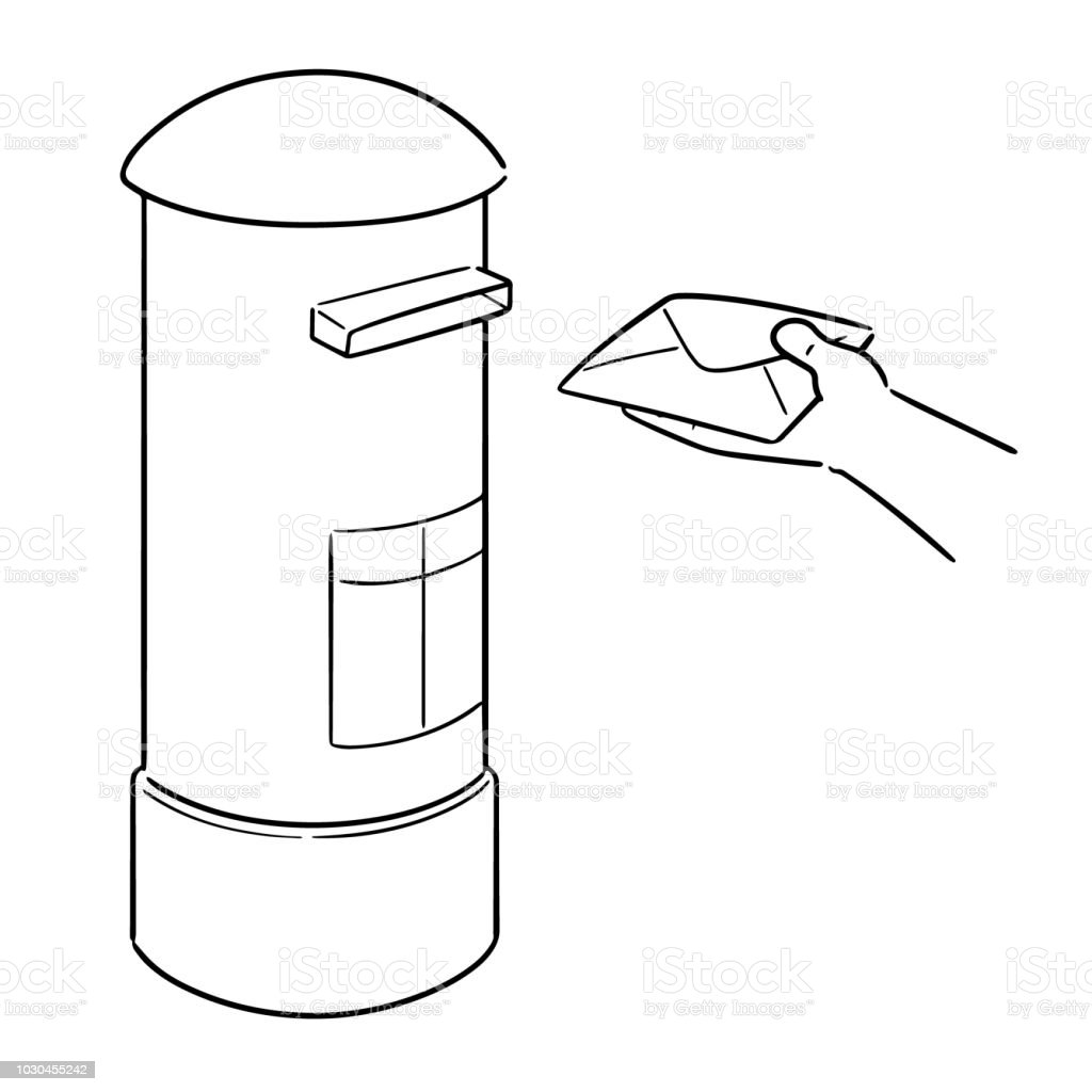 Postbox Stock Illustration - Download Image Now - iStock