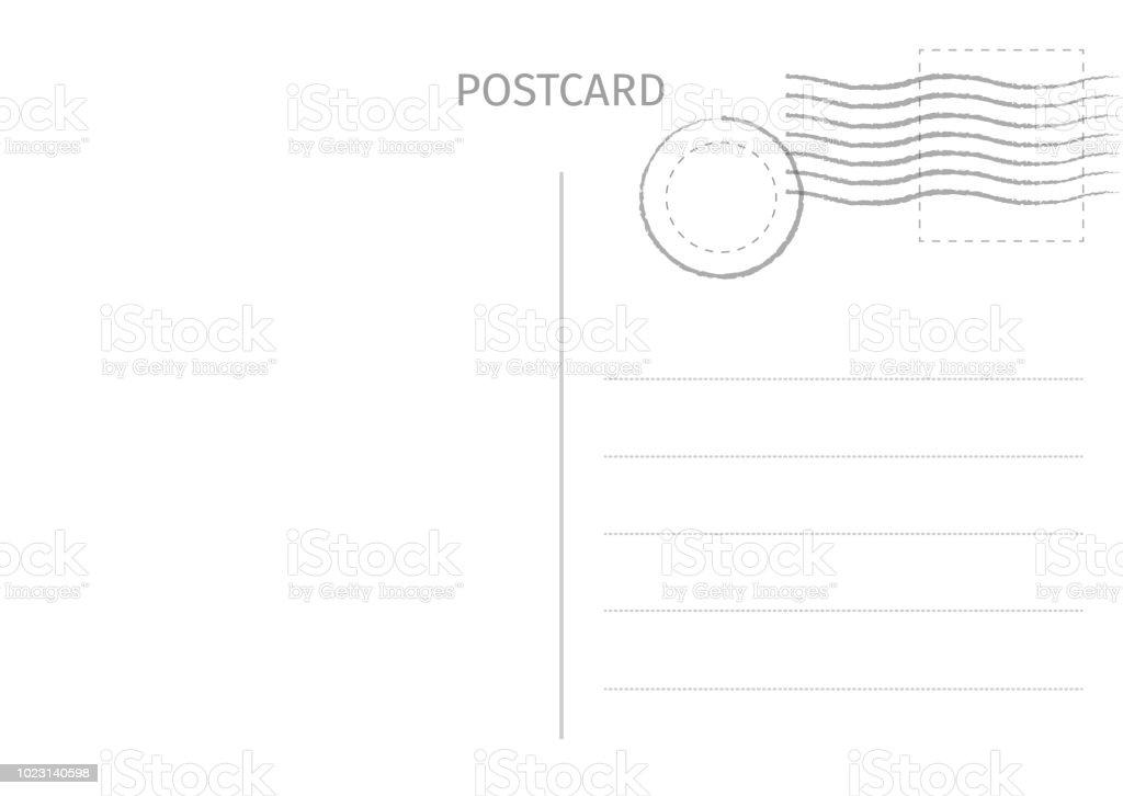 Carte postale. Illustration de carte postale pour la conception. Conception de cartes de voyage. Carte postale isolé sur fond blanc. Illustration vectorielle. carte postale illustration de carte postale pour la conception conception de cartes de voyage carte postale isolé sur fond blanc illustration vectorielle vecteurs libres de droits et plus d'images vectorielles de antique libre de droits