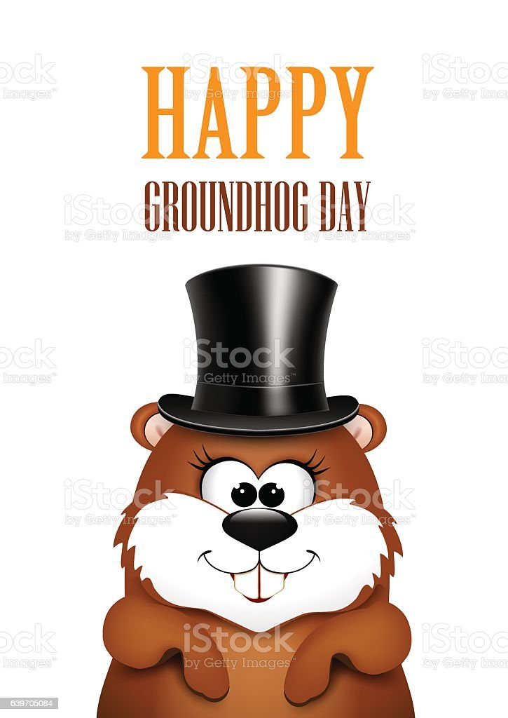 royalty free groundhog day clip art vector images illustrations rh istockphoto com groundhog clipart images groundhog clipart animated