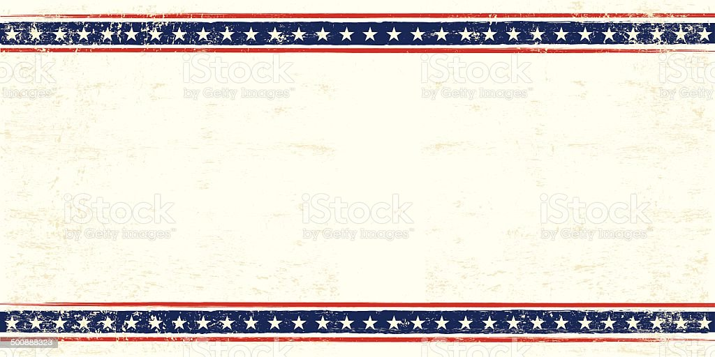 USA postcard An american postcard for you with a large empty space for your text Abstract stock vector