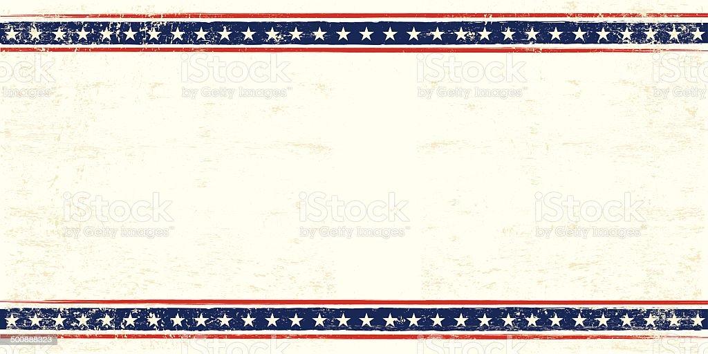 USA postcard vector art illustration