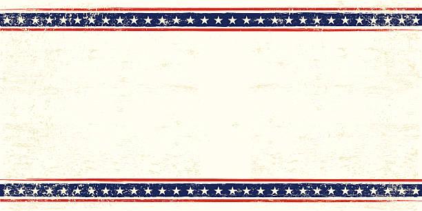 stany zjednoczone kartka pocztowa - us flag stock illustrations