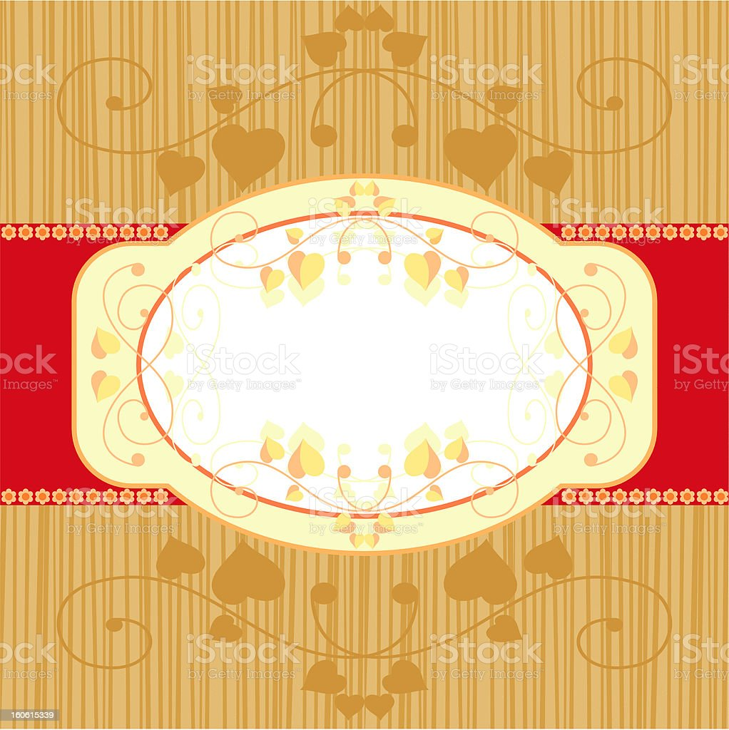 postcard with vignette royalty-free postcard with vignette stock vector art & more images of backgrounds