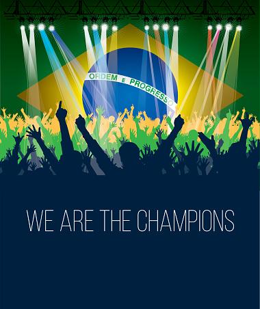 Poster Brazil Fans