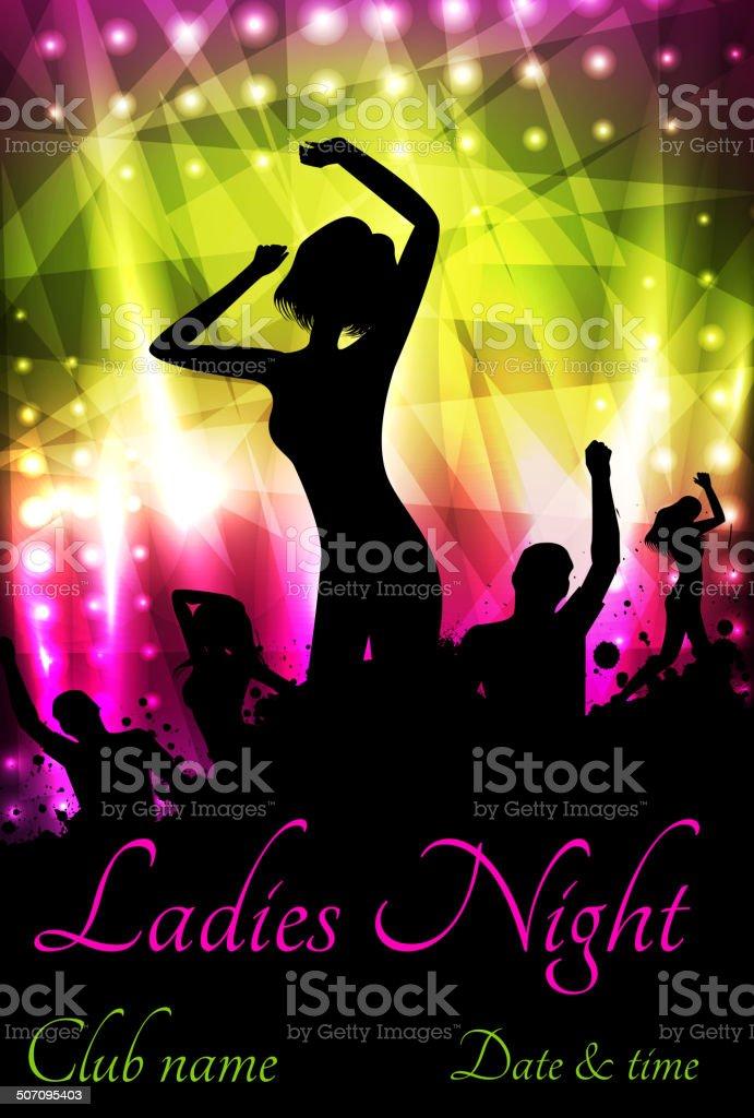 Night poster ladies The Art